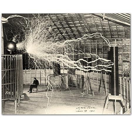 Nikola Tesla's Lightning Equipment
