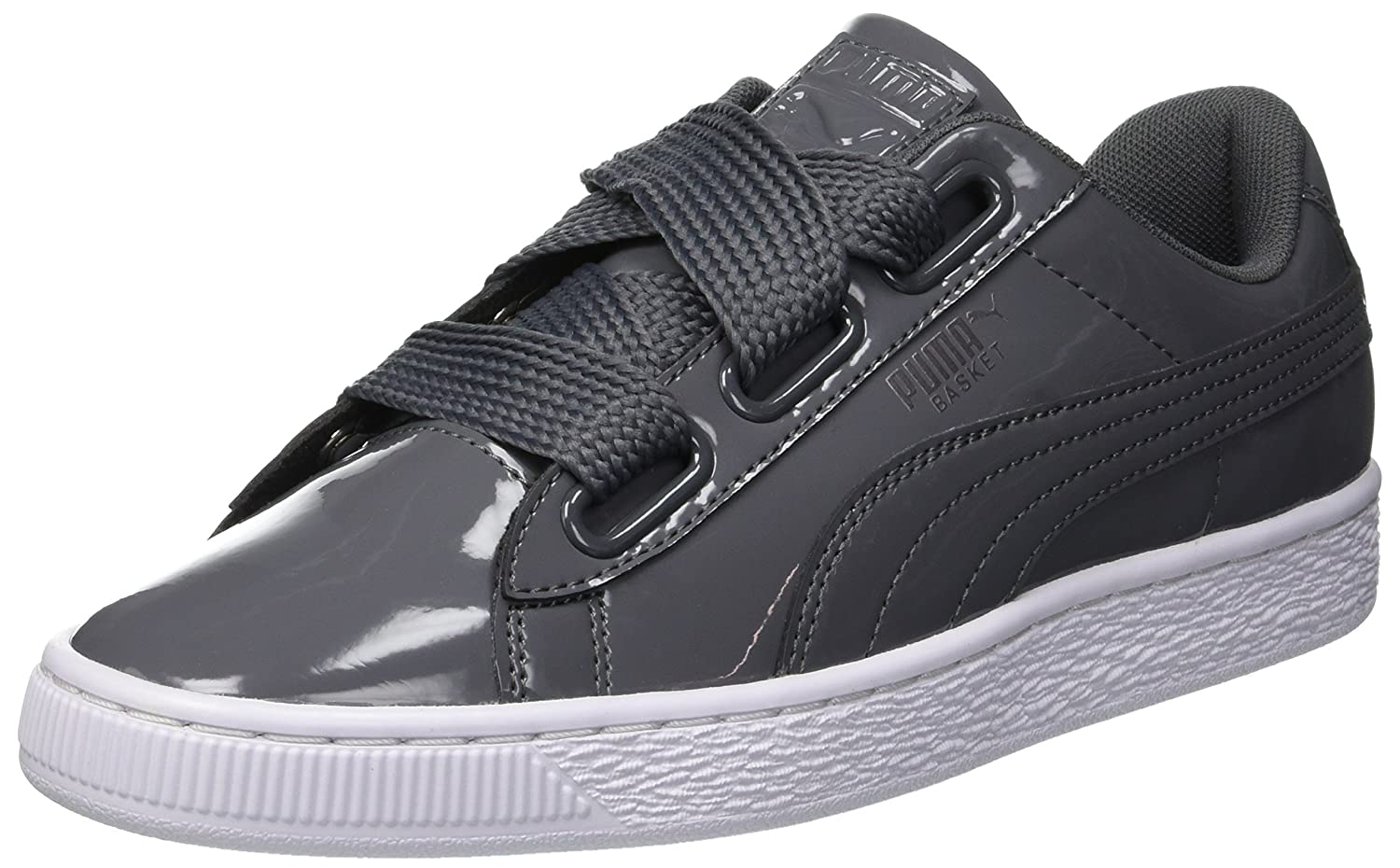 reputable site 5797a d3545 PUMA Women's Basket Heart Patent WN's Trainers