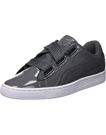 a59104021c Puma Basket Heart Patent, Baskets Basses Femme