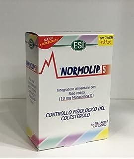 NORMOLIP 5 CONTROL COLESTEROL Y TRIGLICÉRIDOS 120 CÁPSULAS