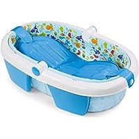 Summer Infant 08310A - Bañera Plegable Newborn to Toddler, azul