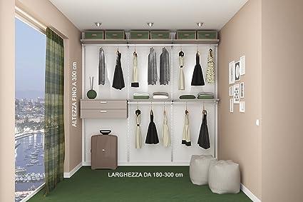 Cabina Armadio Fai Da Te Misure : Cabina armadio di qualità prodotta su misura amazon casa e cucina