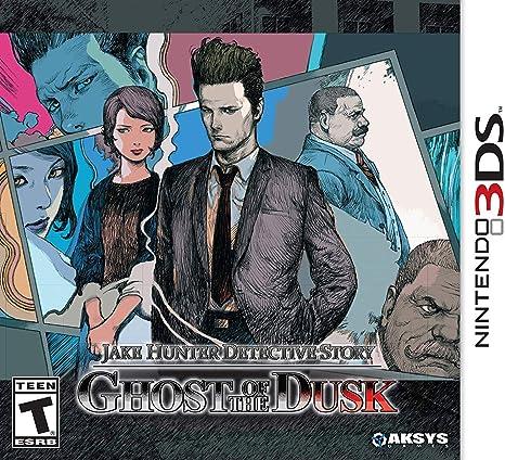 Jogo Jake Hunter Detective Story: Ghost Of The Dusk - 3ds - Aksys Games