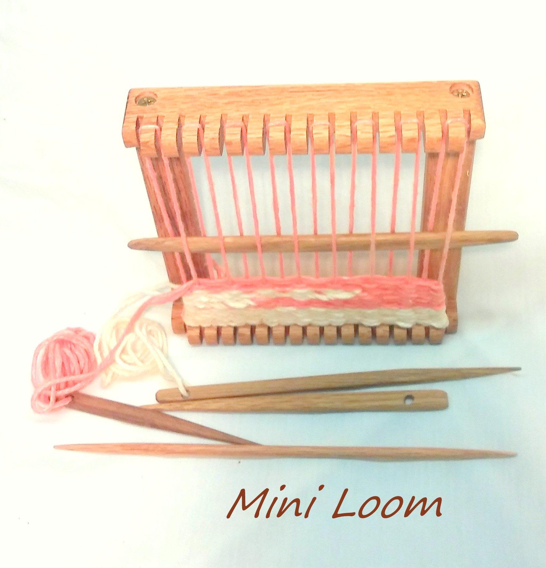Lot of 10 Mini Loom kits 5 in. wide X 5 in. length