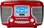 Crosley Corsair Tabletop Am/FM Bluetooth Radio with CD Player and Dual