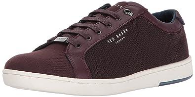 Ted Baker Men's Ternur Sneaker, Dark Red, 8 D(M) US