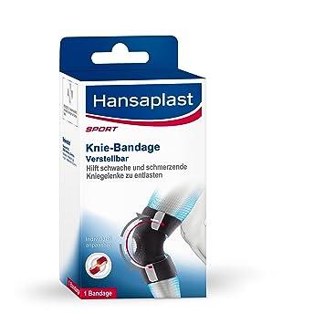 Knieschmerzen: eine Bandage schützt das Kniegelenk