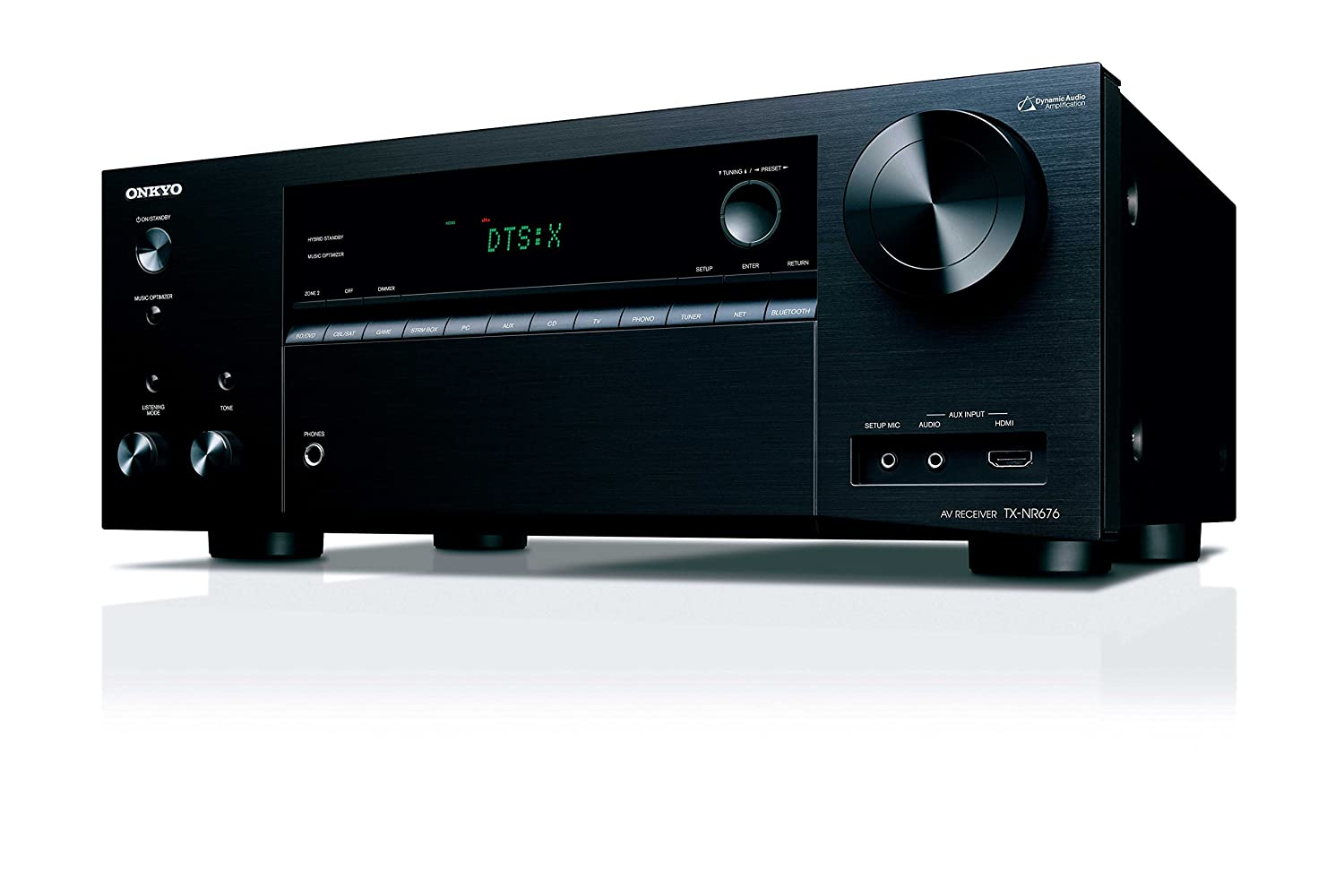 Onkyo TX-NR676 7.2 Channel Network A//V Receiver