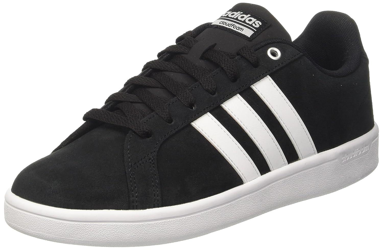 adidas Cloudfoam Advantage Herren Sneakers  41 1/3 EU|Schwarz (Core Black/Ftwr White/Matte Silver Core Black/Ftwr White/Matte Silver)