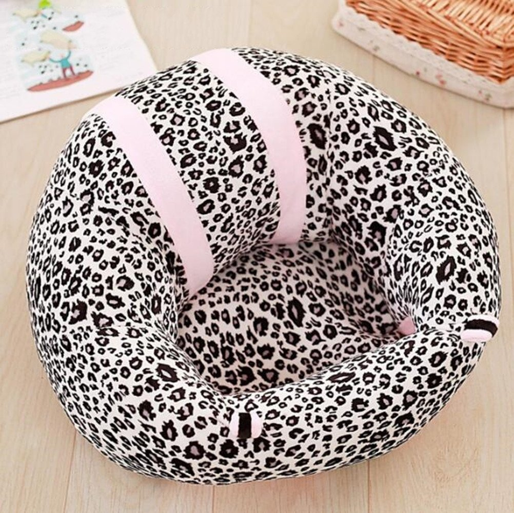 Baby Soft Support Sitz Kinderm/öbel Runde Stuhl Sitz Pl/üsch Kissenbezug Home Geschenk Baby Nest Puff Spielzeug