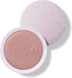 product image for 100% PURE Powder Blush (Fruit Pigmented), Peach, Soft Shimmery Finish, Nourishes Skin w/Rosehip Oil, Cocoa Butter, Natural Makeup (Neutral Peach w/Bronze) - 1.81 oz