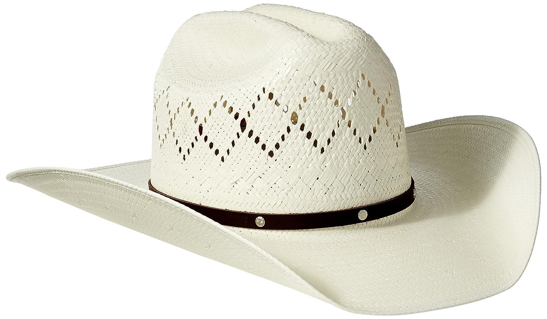 c3c7c5e3 Twister Mens Bangora Straw Cowboy Hat - Parchment'N'Lead