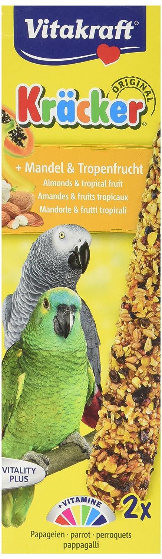 Vitakraft Kräcker Perroquets Amande et Fruits Tropicaux 2 Pièces