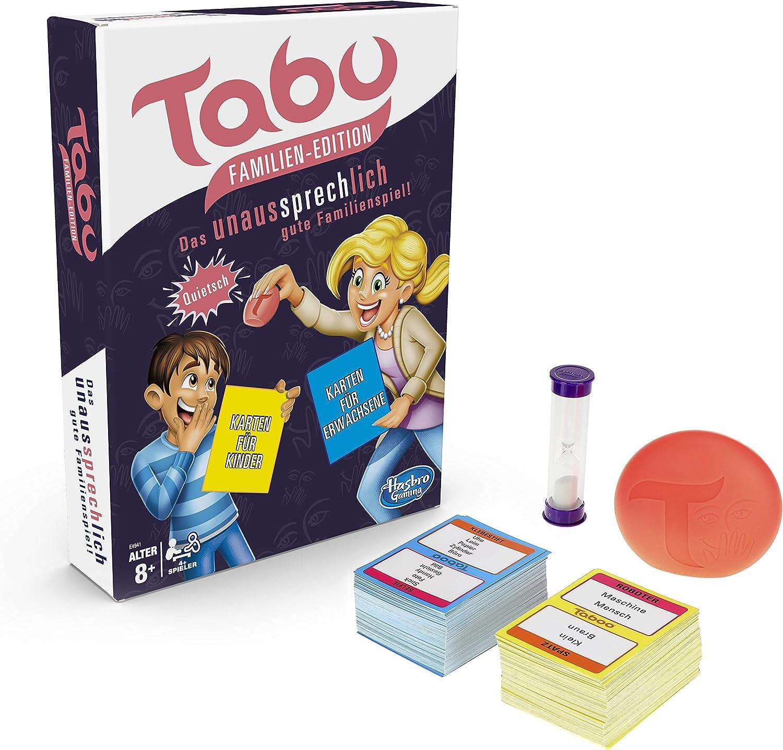 Hasbro E4941100 - Juego de Tablero (Niños y Adultos, Niño/niña, 8 año(s), 260 Pieza(s), Interior, Caja): Amazon.es: Juguetes y juegos