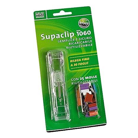 c746c74e06 SPARAMOLLE SUPACLIP ART.1060: Amazon.it: Cancelleria e prodotti per ...