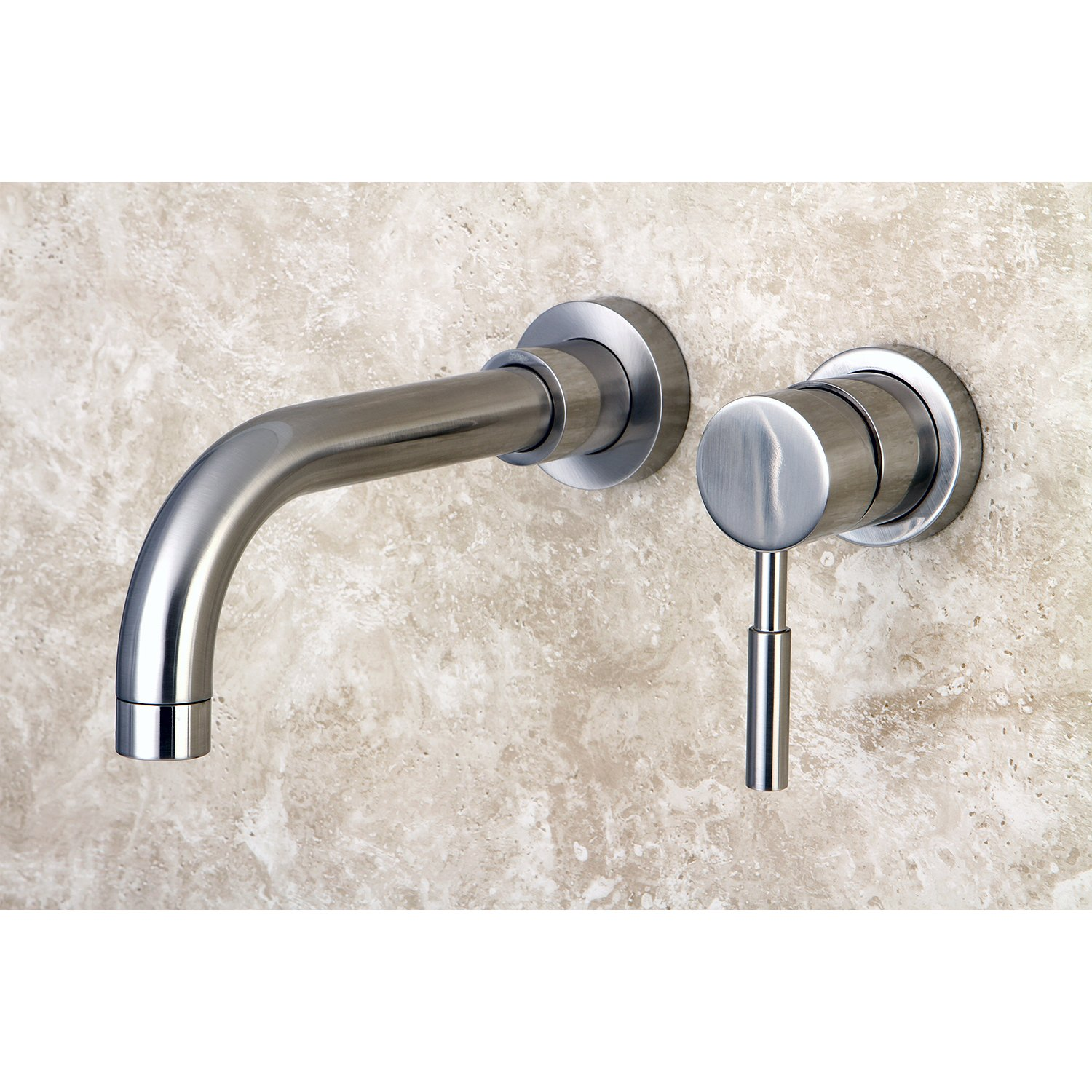 Kingston Brass KS8118DL Concord Wall Mount Single Lever Handle Sink ...