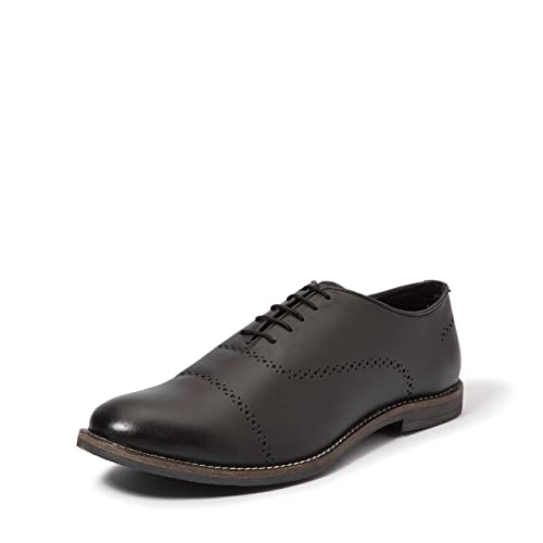 4a239ed393 Amazon Brand - Symbol Men s Leather Formal Oxford shoes  Buy Online at Low  Prices in India - Amazon.in