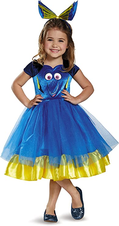 Disguise Dory Toddler Tutu Deluxe Finding Dory Disney/Pixar ...