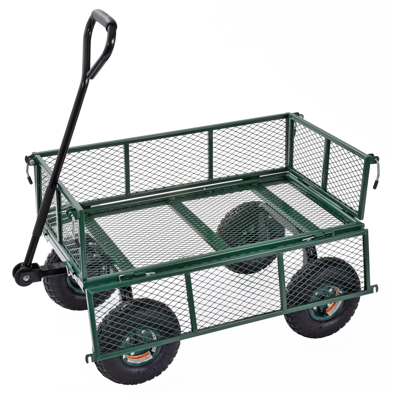 Sandusky Lee CW3418 Muscle Carts Steel Utility Garden Wagon, 400 lb. Load Capacity, 21-3/4'' Height x 34'' Length x 18'' Width by Sandusky (Image #3)