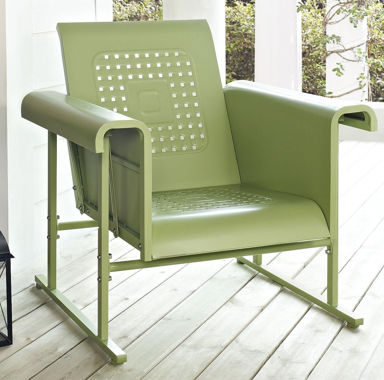 Amazon Crosley Furniture Veranda Metal Outdoor Single Glider