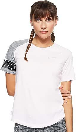 Nike Women's Miler Top Ss Sd T-Shirt