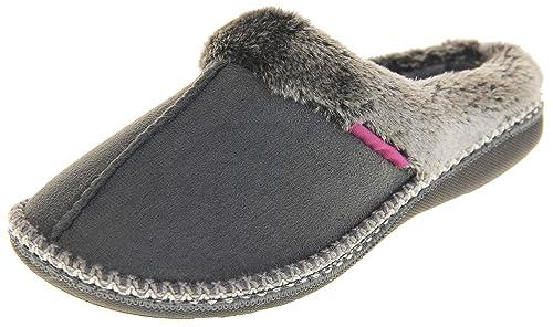 Dunlop Mujer cálidas y cómodas Zapatillas de Invierno: Amazon.es: Zapatos y complementos