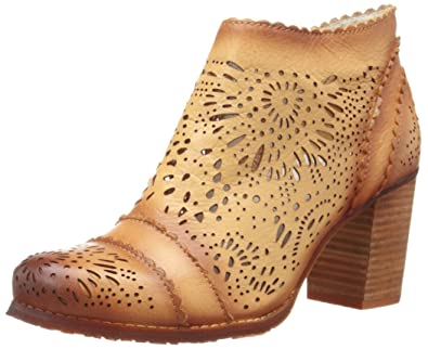 L'artiste by Spring Step Women's Bao Ankle Bootie, Natural, 38 EU/