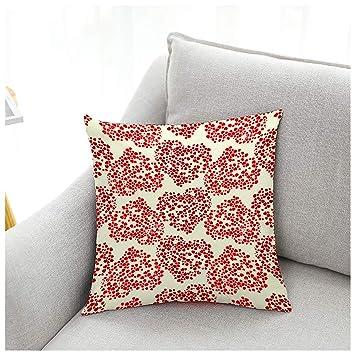 Amazon.com: Coliang - Funda de cojín para sofá de 17.7 x ...