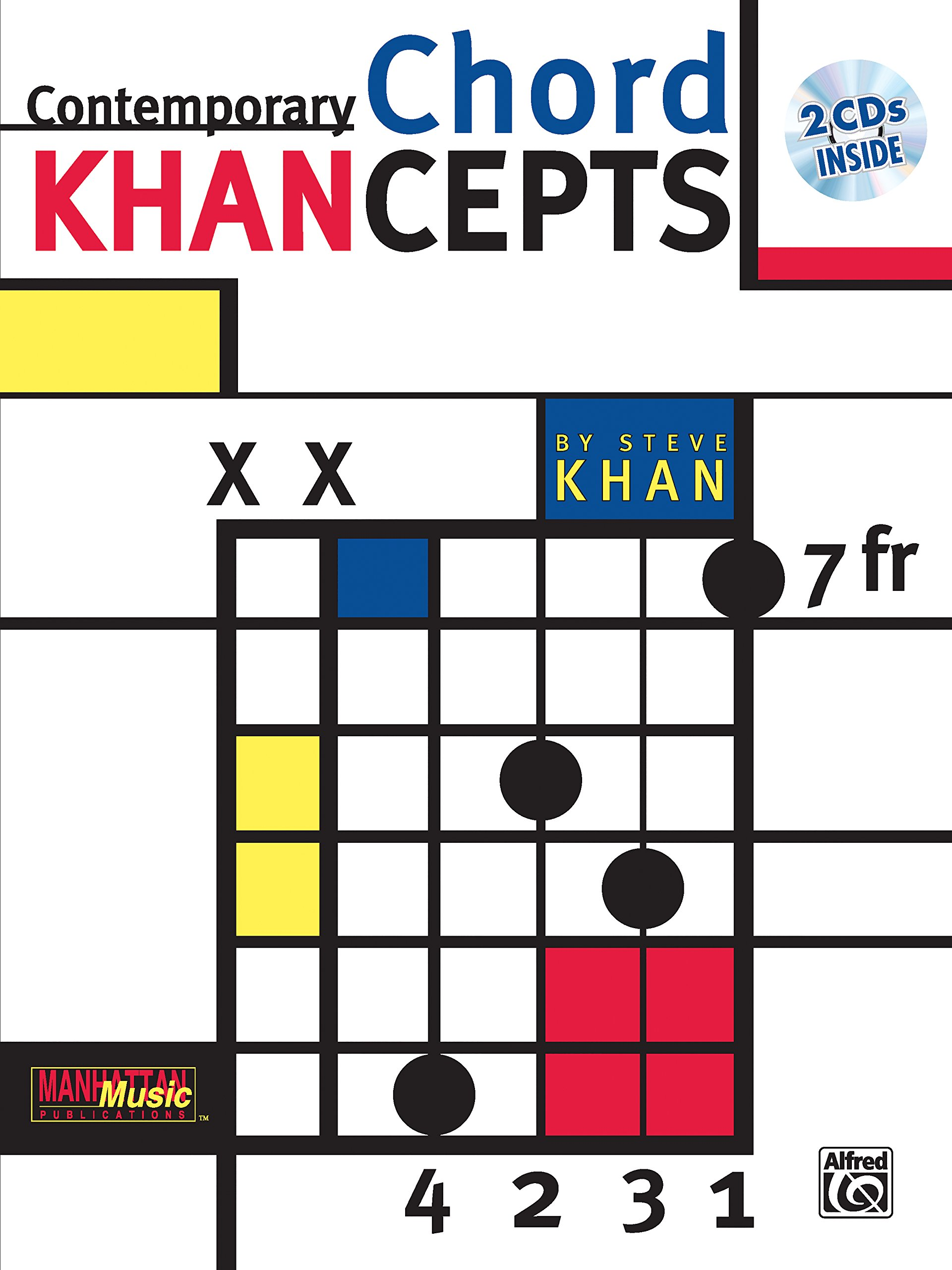 Contemporary Chord Khancepts Steve Khan 0029156267372 Amazon