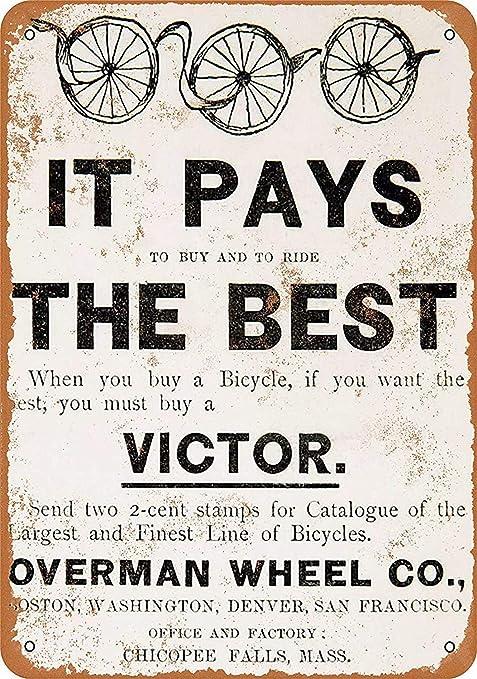 KODY HYDE Póster De Pared Metal - Victor Bicycles - Cartel ...
