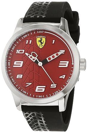 En Mixte Montres Analogique Silicone Avec 840021 Enfant Ferrari Quartz Bracelet Scuderia xtrQdCsh