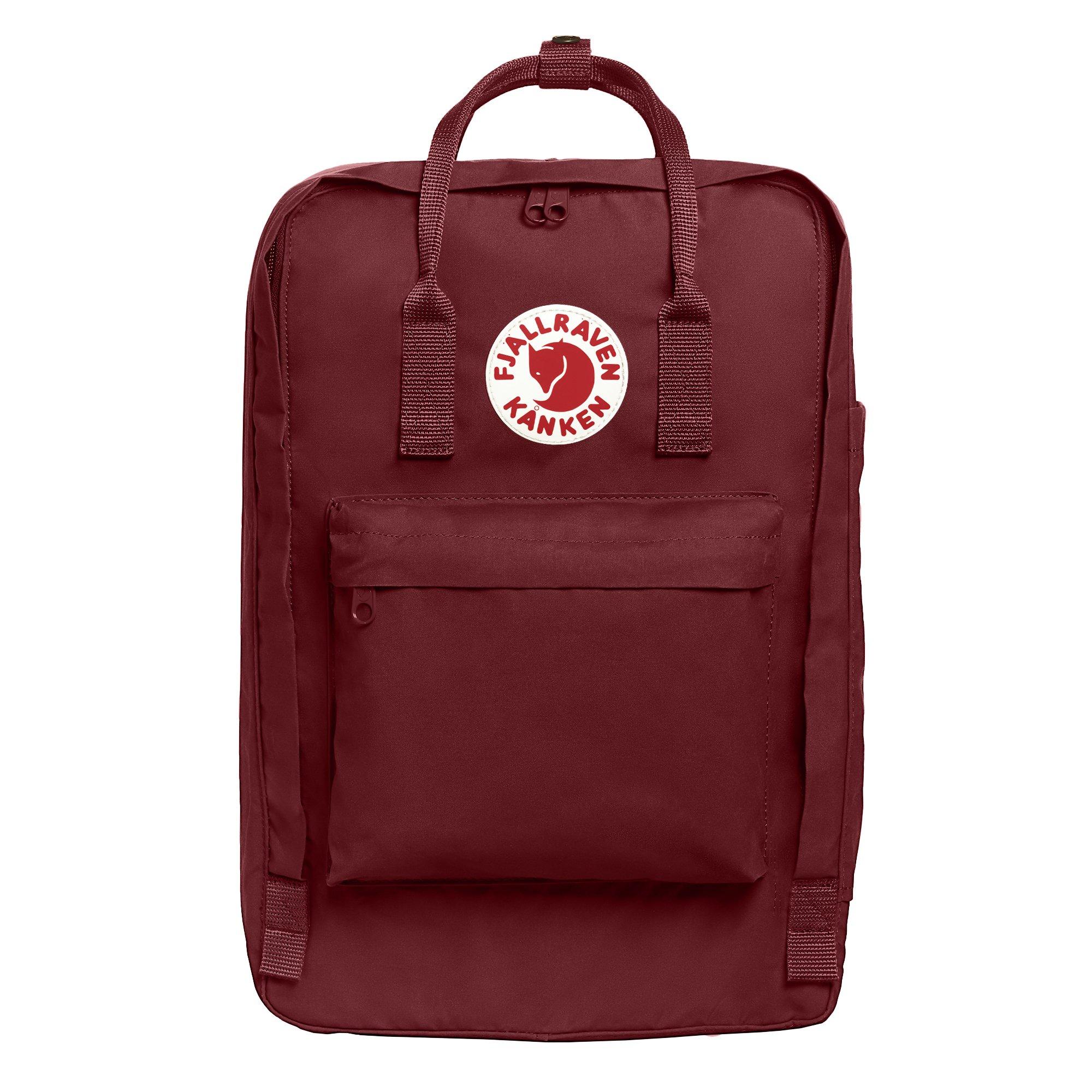 Fjallraven - Kanken Laptop 17'' Backpack for Everyday, Ox Red by Fjallraven