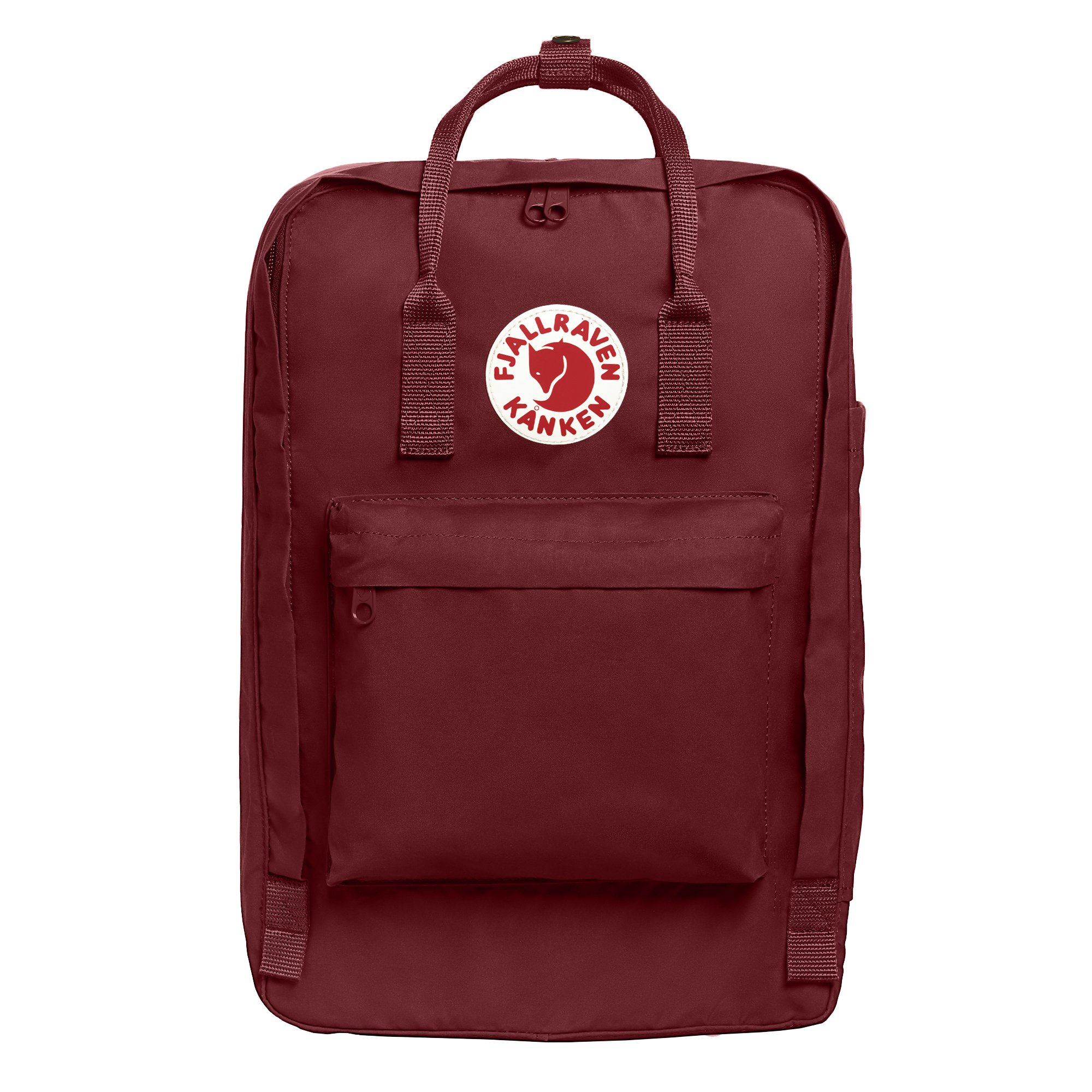 Fjallraven - Kanken Laptop 17'' Backpack for Everyday, Ox Red