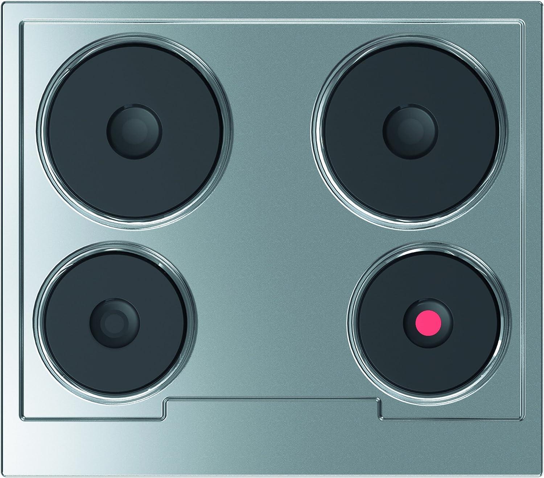 Gorenje ED 60 EX - Cocina eléctrica (58 cm, 5500 W), acero: Amazon ...