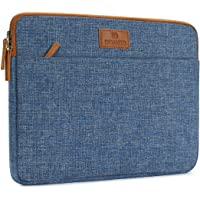 """DOMISO 14 inch Laptop Sleeve Case Carrying Bag Briefcase for 13.5"""" Microsoft Surface Book / 14"""" Lenovo/HP/Acer/ASUS/Dell Chromebook Notbook,Blue"""