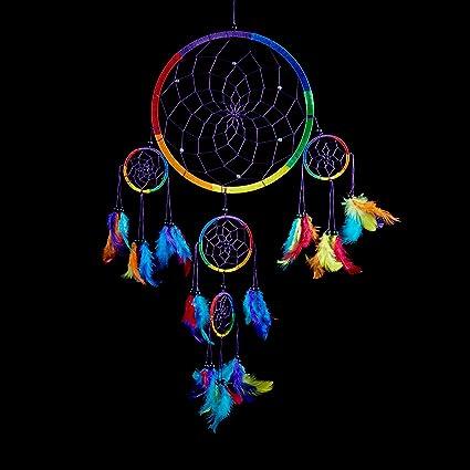 28783f3ec7dbb Amazon.com: Caught Dreams Dream Catcher ~ Traditional Handcrafted ...