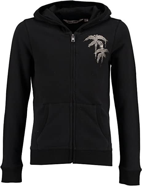 Garcia niñas Chaqueta Sudadera, Off Black b72467: Amazon.es ...