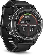 Garmin Fenix 3 Reloj multideporte Gris con extensibles negros con monitor cardíaco