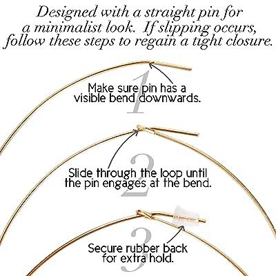 Gold Vein Nickel Free Translucent Safe for Sensitive Ears Lightweight Fan Shaped Light Pink High Shine Gloss Blush