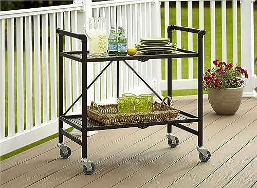 Cosco Indoor Outdoor Serving Cart