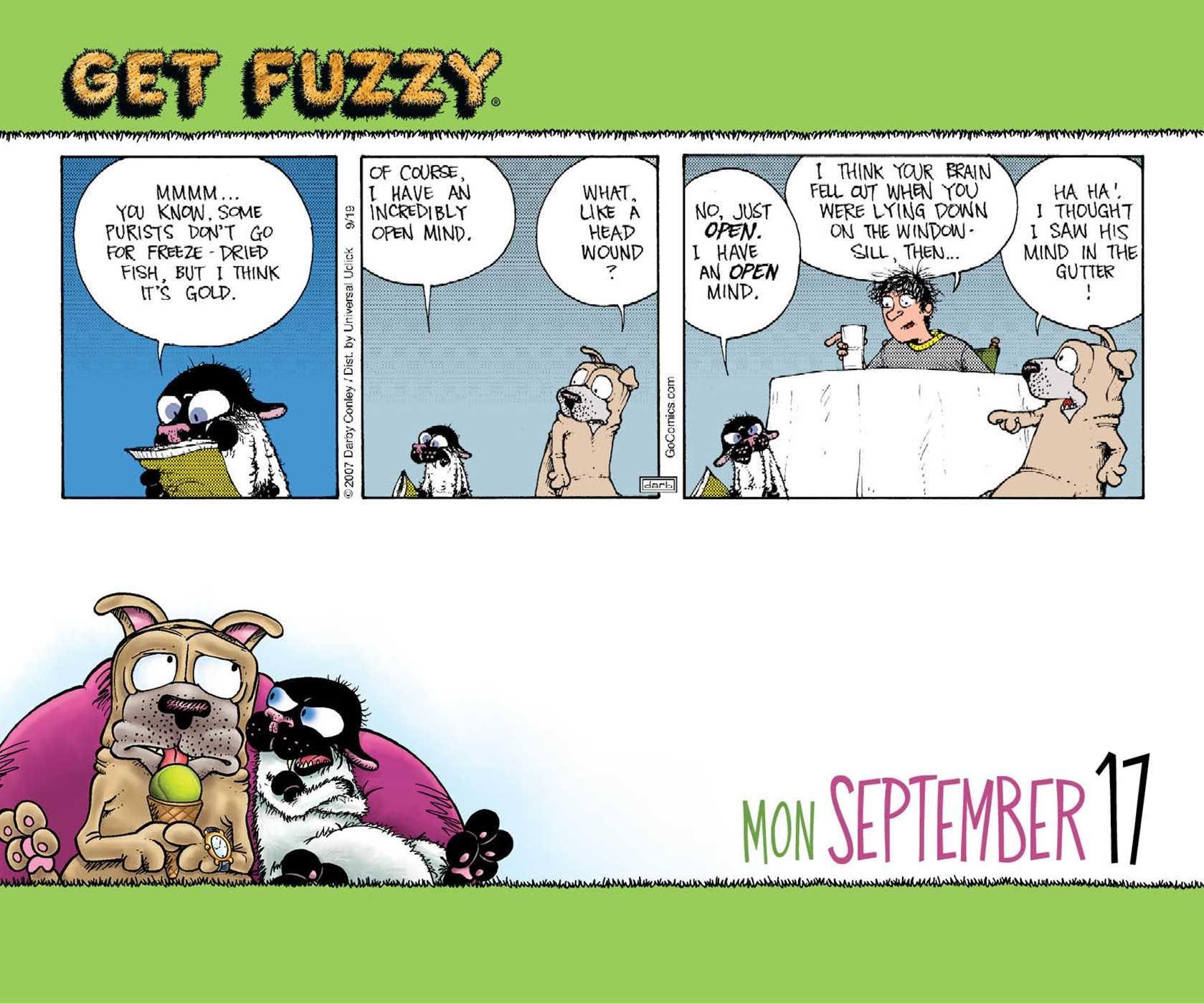 Get Fuzzy 2018 Calendar Amazonde Darby Conley Fremdsprachige Bücher