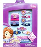 DISNEY SOFIA THE FIRST GIRLS 20 PIECE HAIR ACCESSORY SET IDEAL GIFT SET