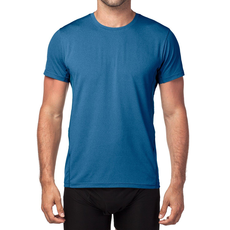 LAPASA Camiseta Deportiva para Hombre con Microperforación en los Costados  (Ideal para Running 183bae69b13b1