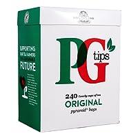 PG Tips Pyramid 240 Btl. - Schwarzer Tee im Pyramid® Teebeutel