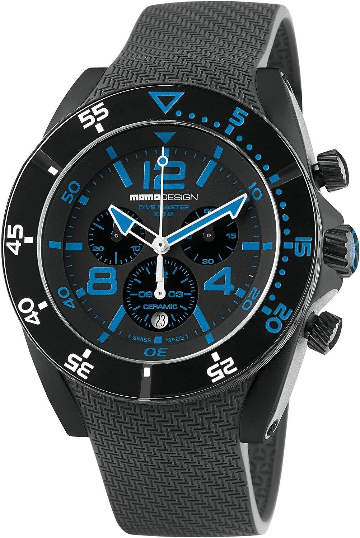 MOMO Design Reloj Informal MD1281BK-21