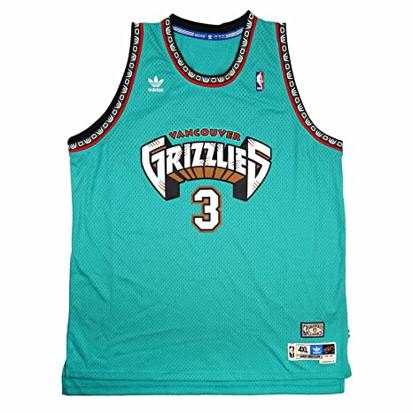 e9968badeaa Amazon.com   Shareef Abdul-Rahim Vancouver Grizzlies NBA Adidas Teal 1996-97  Soul Swingman Throwback Away Road Jersey For Men (4XL)   Sports   Outdoors