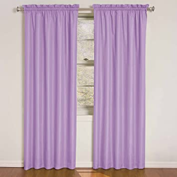 Amazoncom Eclipse Kids XPUR Wave Inch By Inch - Room darkening curtains for kids