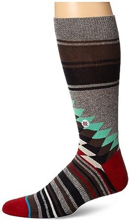 Stance Men's Laredo Crew Sock, Grey, Sock Size:10-13/Shoe