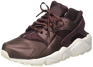 271e0ff2e456 Image Unavailable. Image not available for. Color  Nike Air Huarache Run  Premium TXT Womens Shoes Mahogany Summit White ...