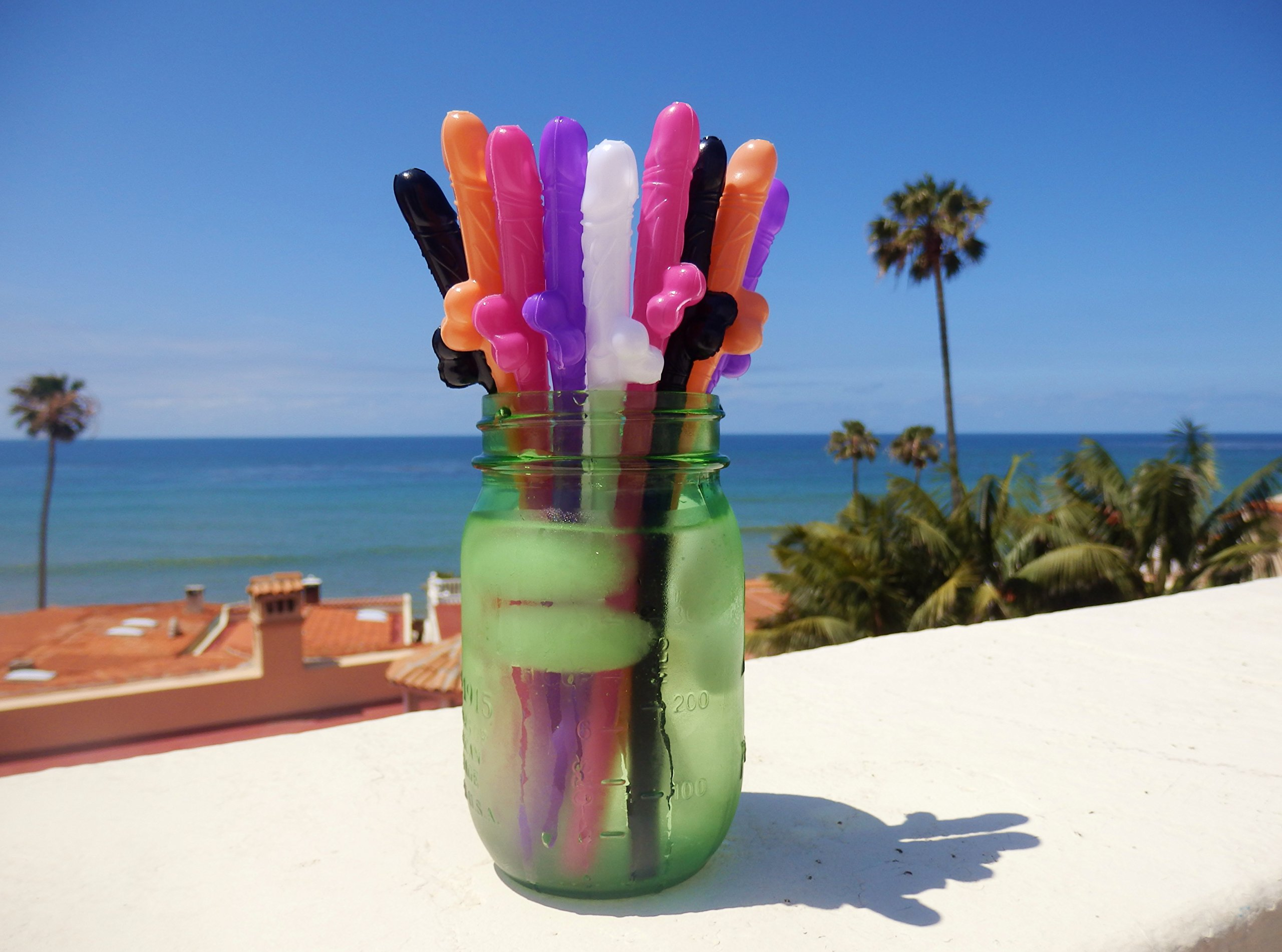 20 PACK - Mr. Winky's Drinkies Party Straws by Sterling James Co.